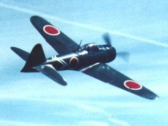 death-dealing death-trap A6M Zero Fighter