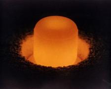 Hot plutonium.